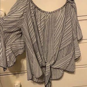 Tyche large off the shoulder blouse